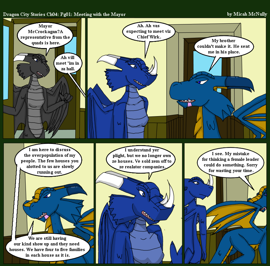 Ch 04: Pg 01: Meeting with the Mayor